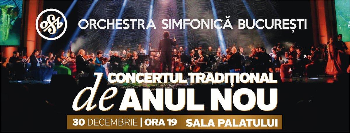 bilete Orchestra simfonica Bucuresti- Concert traditional de Anul nou
