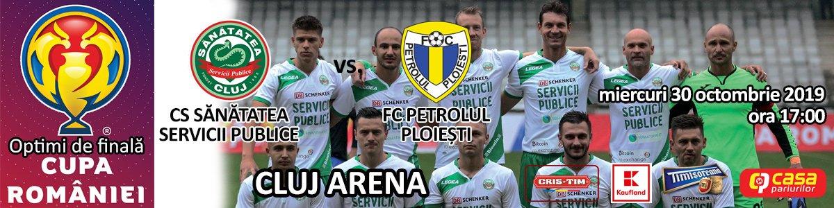 bilete CS Sanatatea Servicii Publice - FC Petrolul Ploiesti - Cupa Romaniei