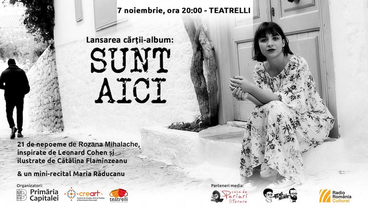 bilete Lansarea cărții-album SUNT AICI & mini-recital Maria Răducanu
