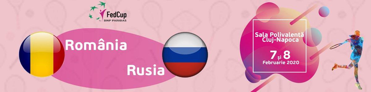bilete Fed Cup - Romania - Rusia