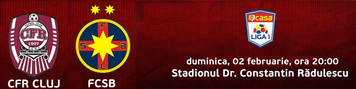 bilete CFR 1907 Cluj v FCSB