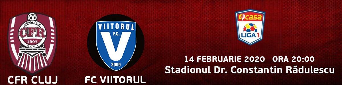 bilete CFR 1907 Cluj v FC Viitorul
