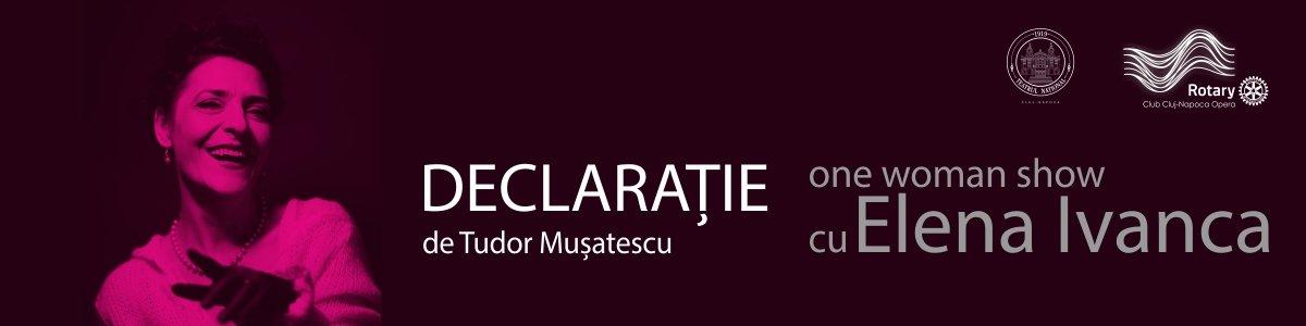 bilete Declaratie