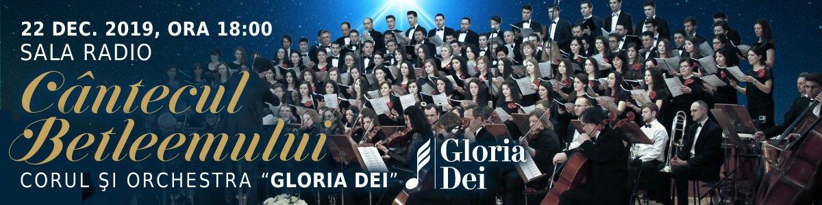 bilete Concert vocal-simfonic extraordinar, Cantecul Betleemului - Gloria Dei