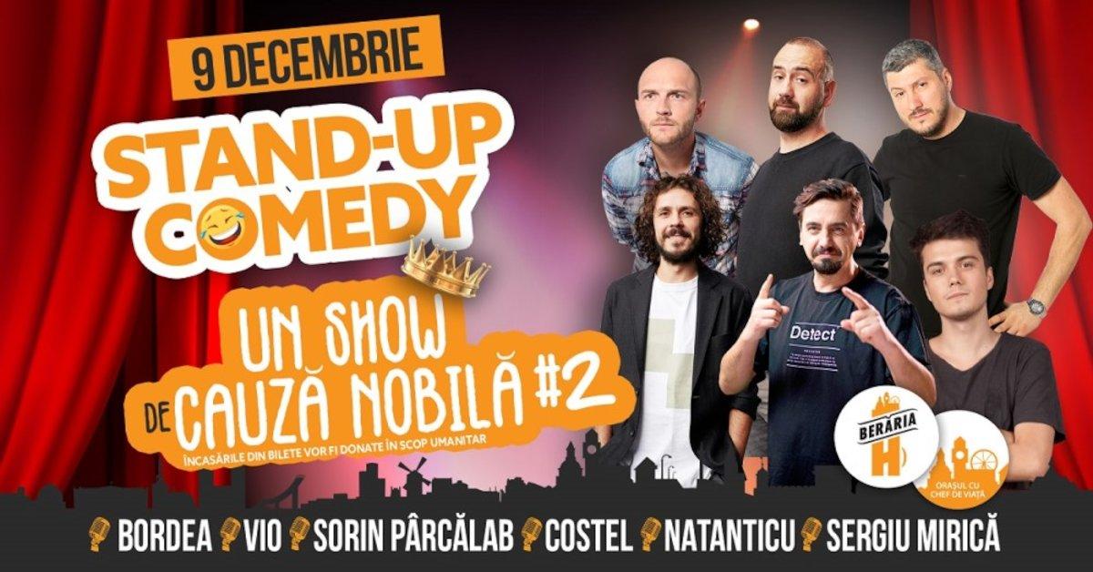 bilete Stand-Up Comedy la Beraria H