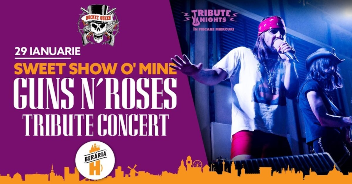 bilete Concert Guns N' Roses Tribute