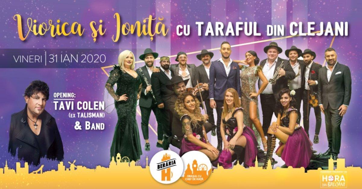 bilete Concert Viorica & Ionita + Taraful din Clejani