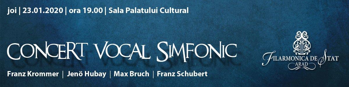 bilete Concert vocal simfonic