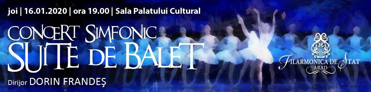 bilete Concert simfonic - Suite de Balet