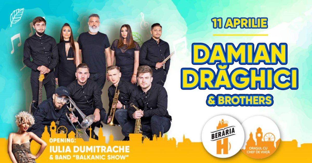 bilete Concert Damian Draghici & Brothers la Beraria H