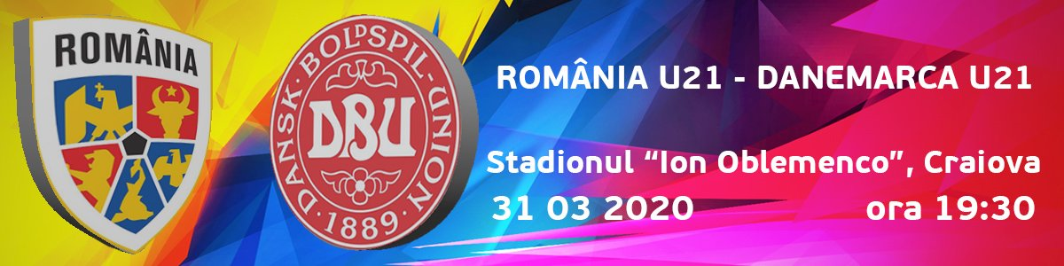 bilete Romania U21 vs Danemarca U21