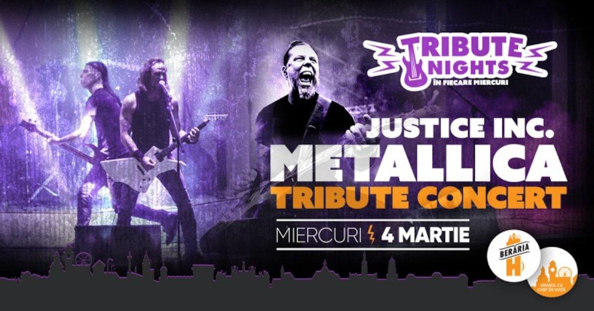 bilete All of Metallica - Tribute Show cu Justice Inc. (Italia)