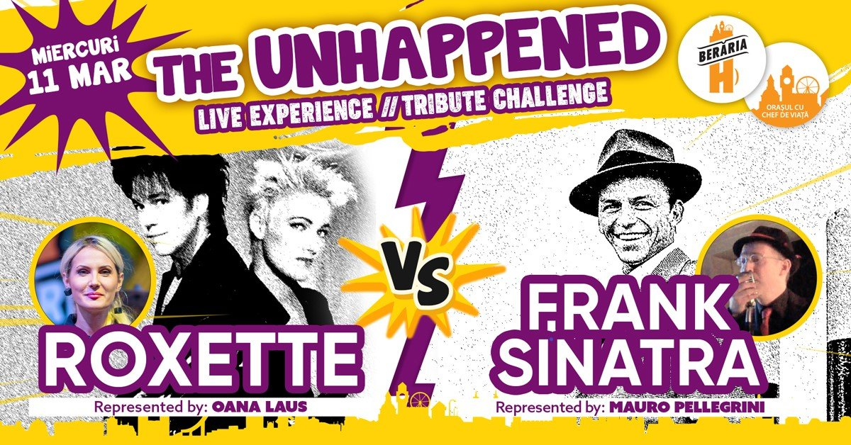 bilete Roxette vs Frank Sinatra The Unhappened Live Experience