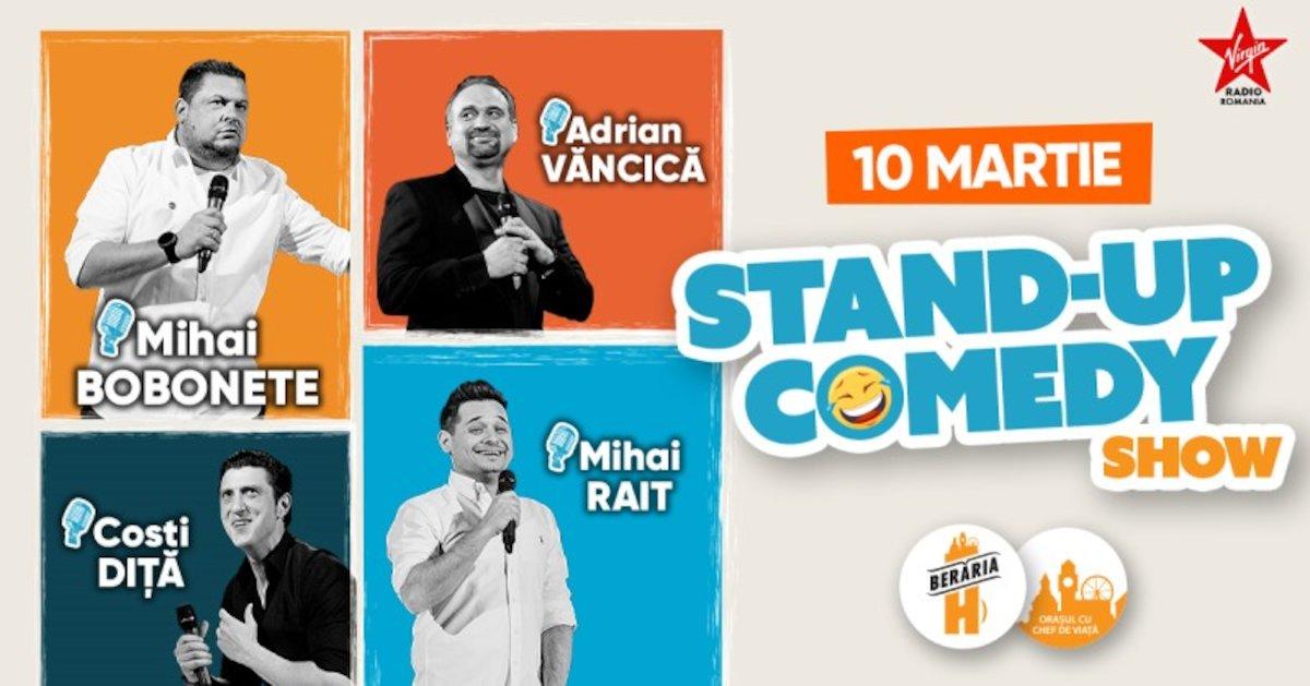 bilete Stand-up Comedy - Bobonete, Vancica, Dita si Rait