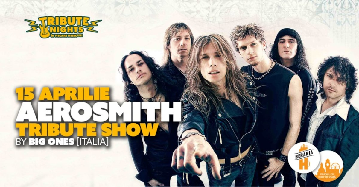 bilete Aerosmith Crazy Show - Tribute Nights