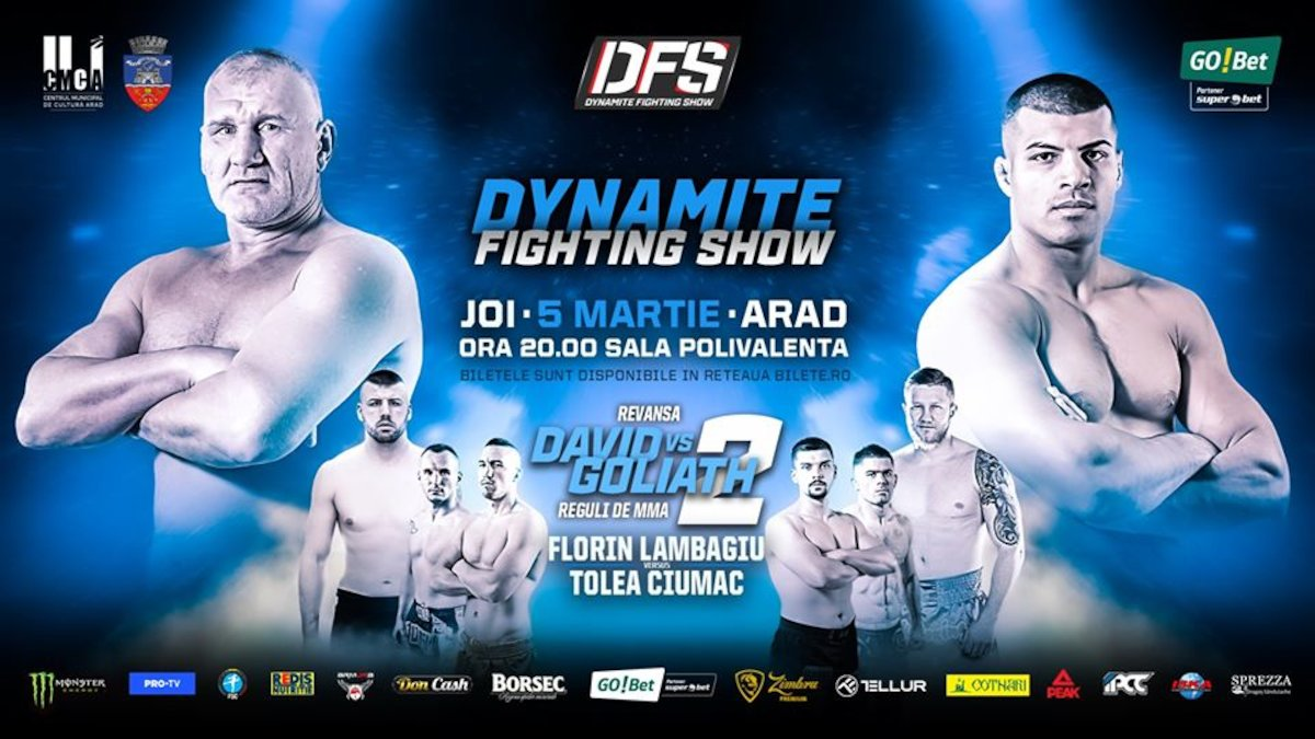 bilete Dynamite Fighting Show - David vs Goliat