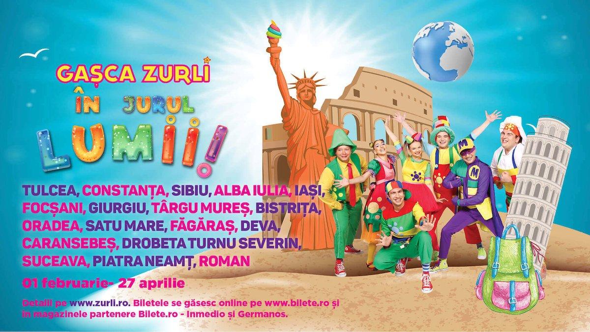 bilete Gasca Zurli in jurul lumii !