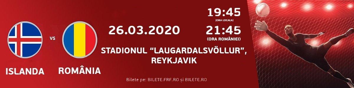 bilete Islanda vs Romania EURO2020