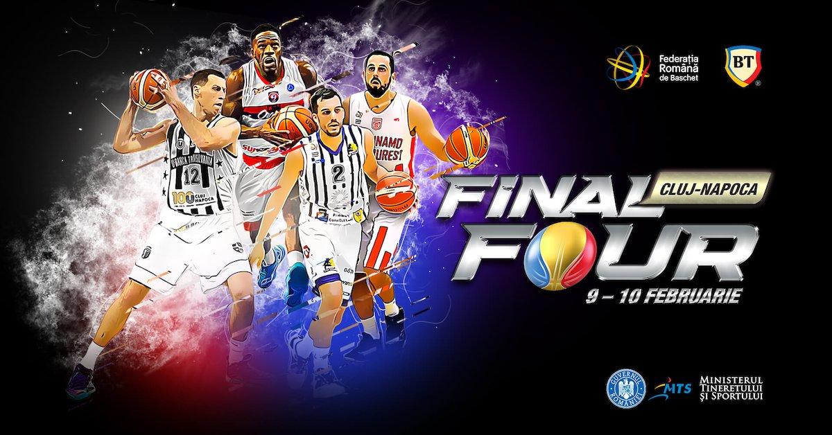 bilete FINAL FOUR Cupa României la Baschet Masculin