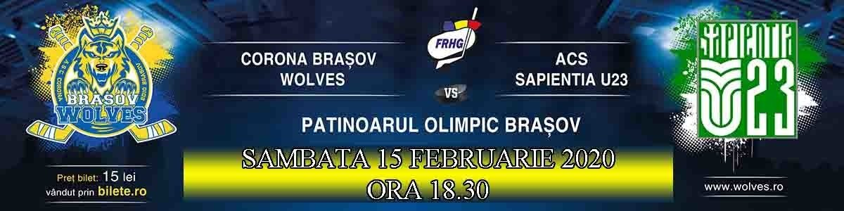 bilete CSM Corona Brasov Wolves - ACS Sapientia U23