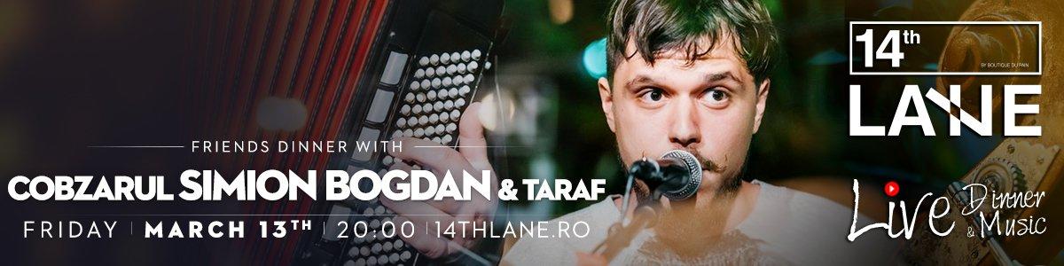 bilete Cobzarul Simion Bogdan & Taraf