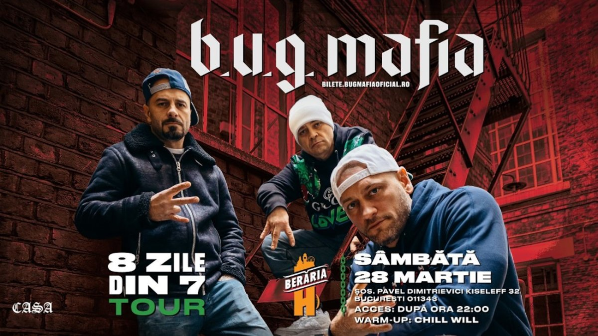 bilete Concert BUG Mafia