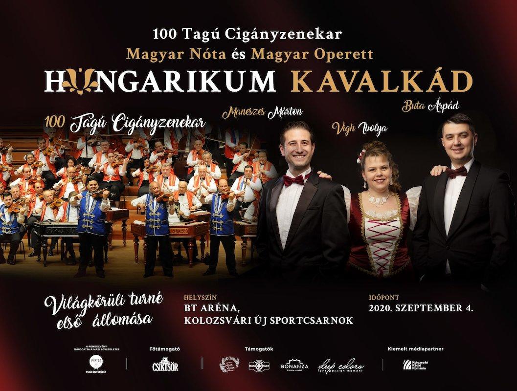 bilete Hungarikum Kavalkad