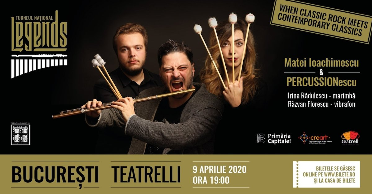 bilete Turneul Național Legends: Classic Rock Meets Contemporary Classics