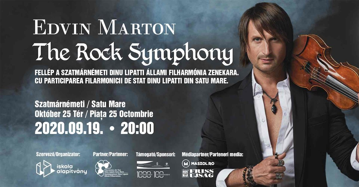 bilete Edvin Marton : The Rock Symphony
