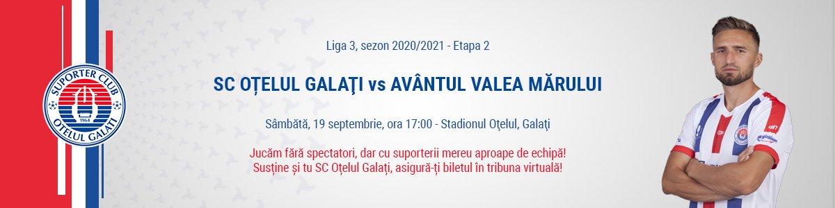 bilete SC Otelul Galati - Avantul Valea Marului