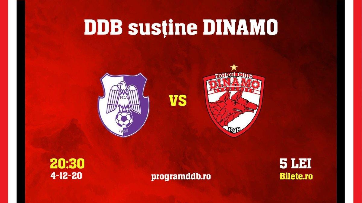 bilete FC Arges - FC Dinamo
