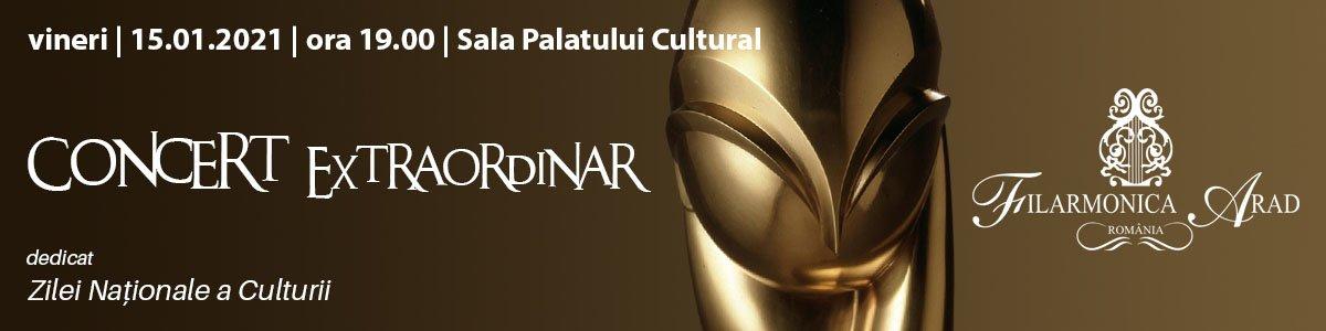 bilete Concert extraordinar dedicat Zilei Naționale a Culturii
