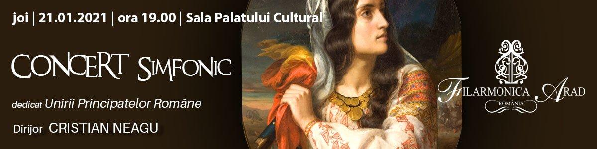 bilete Concert simfonic dedicat Unirii Principatelor Romane