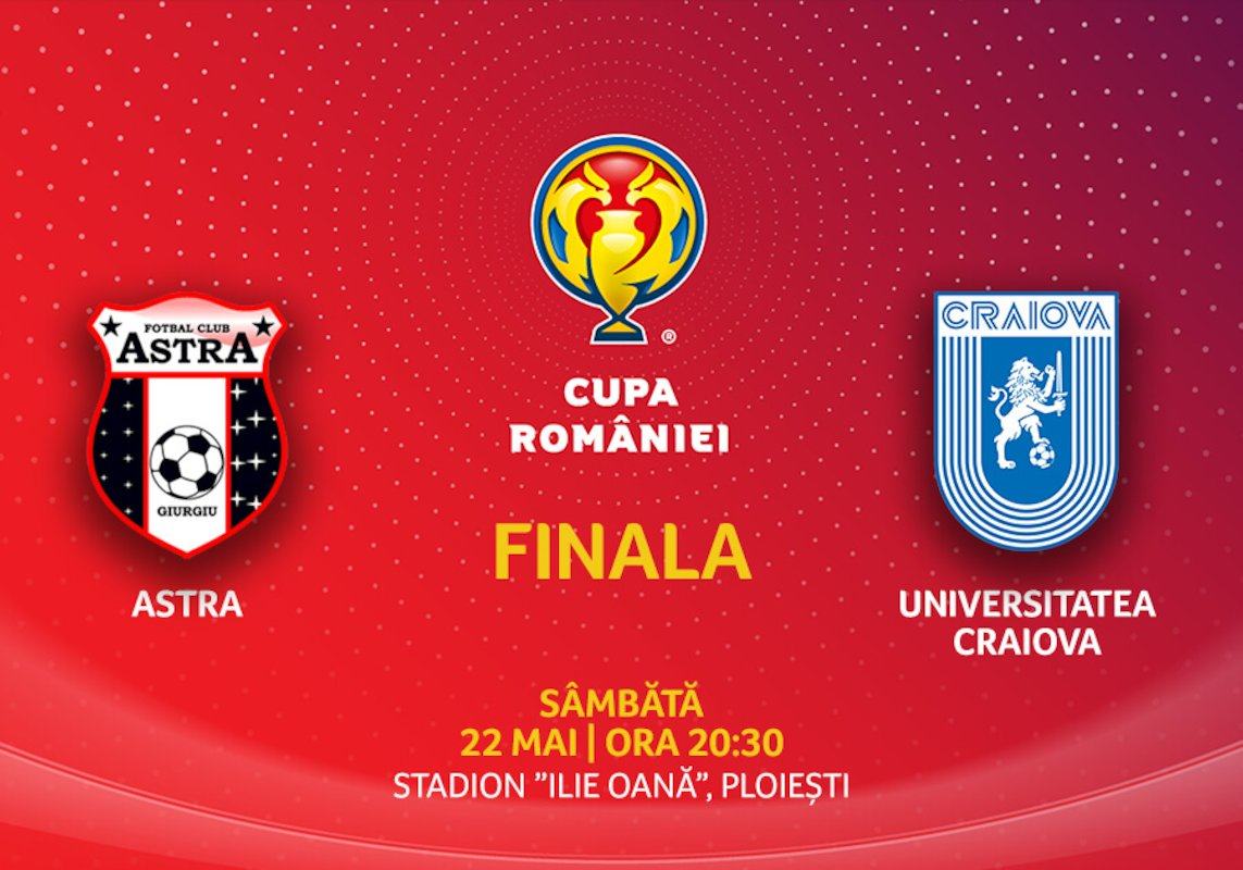 bilete Finala Cupei Romaniei