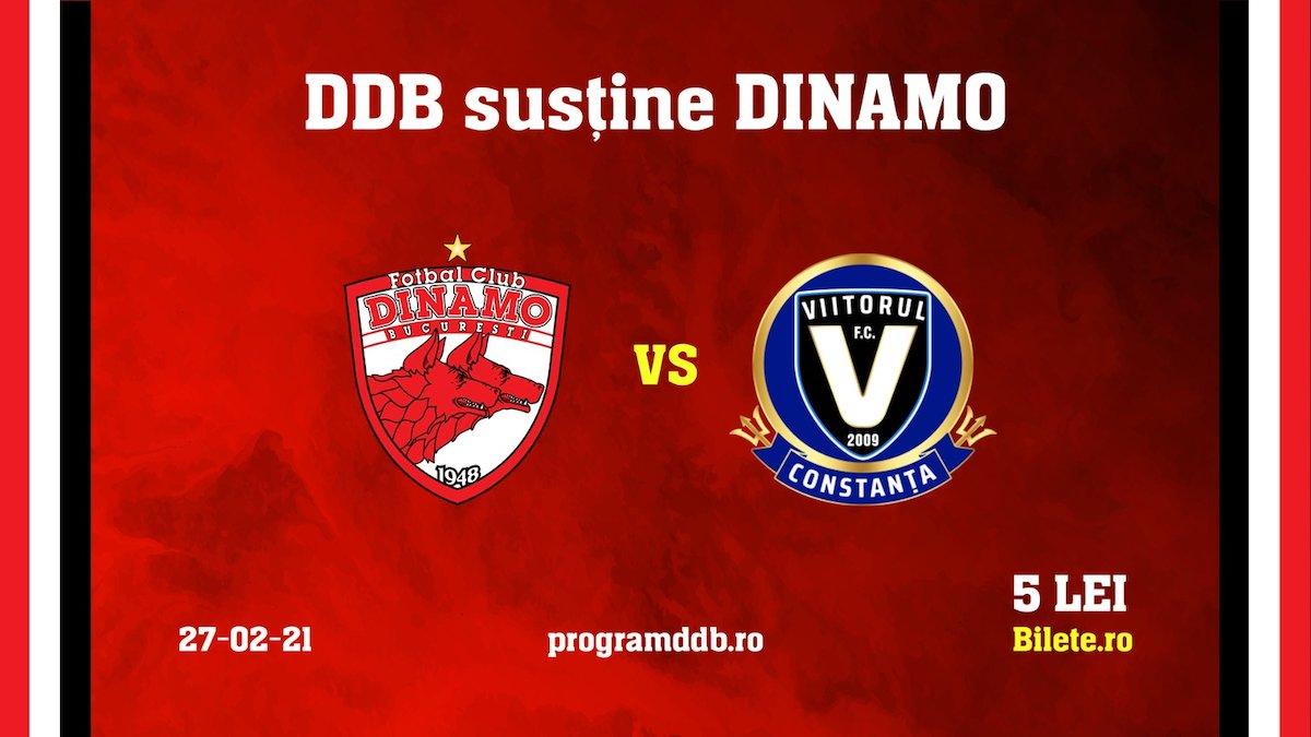 bilete FC Dinamo - FC Viitorul