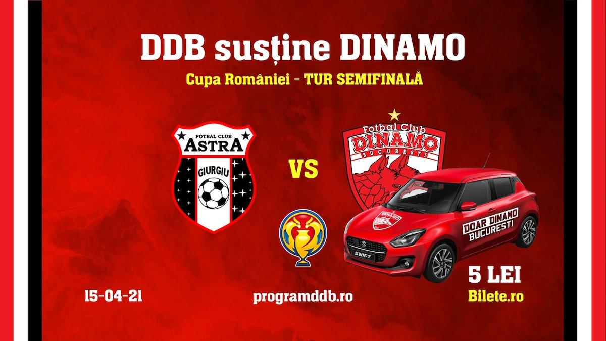 bilete Semifinalele Cupei Romaniei