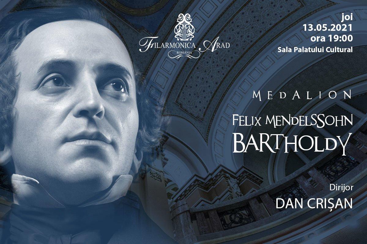 bilete Medalion Felix Mendelssohn Bartholdy