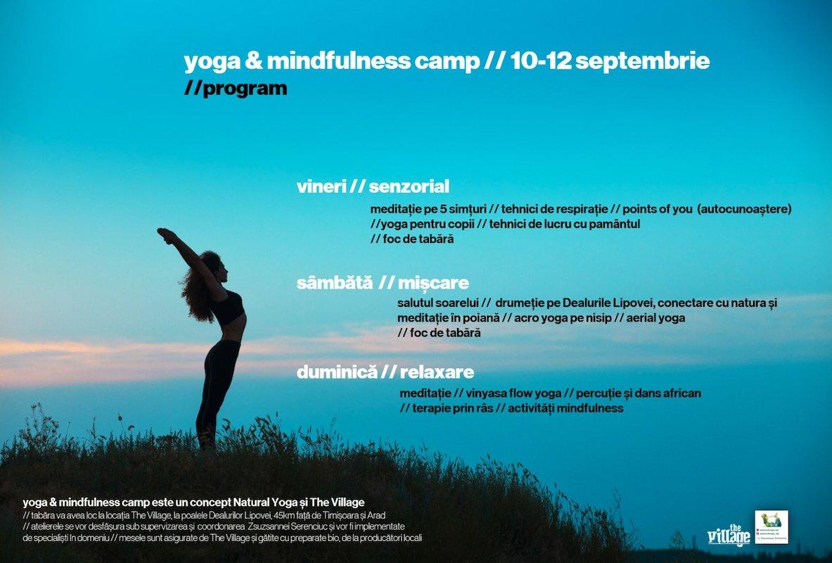 bilete yoga & mindfulness camp
