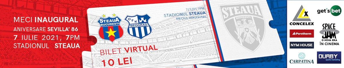 bilete Bilete virtuale CSA Steaua