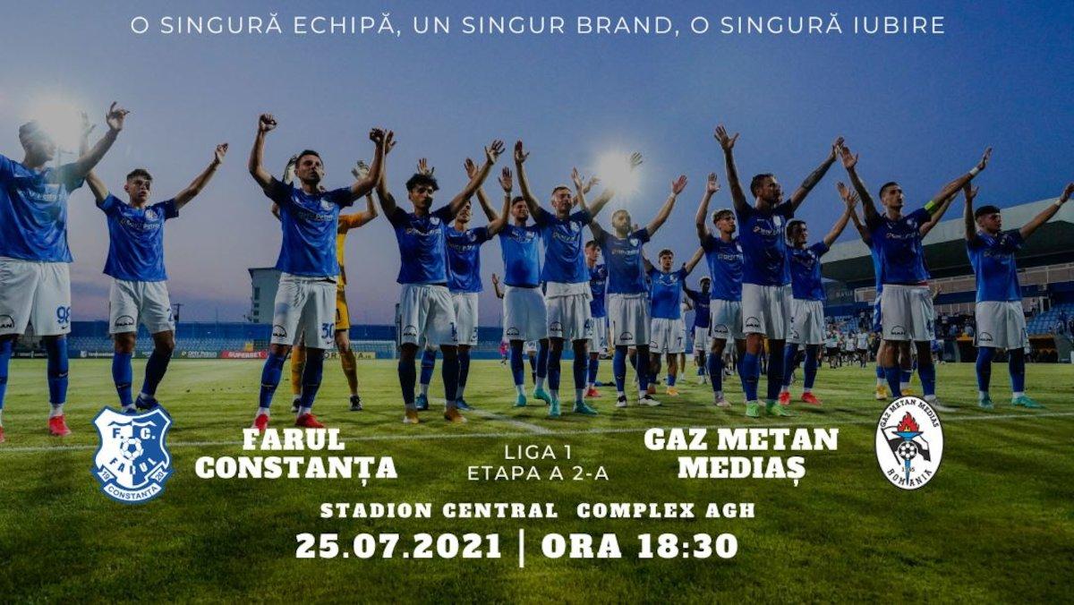 bilete Farul Constanta - Gaz Metan Medias