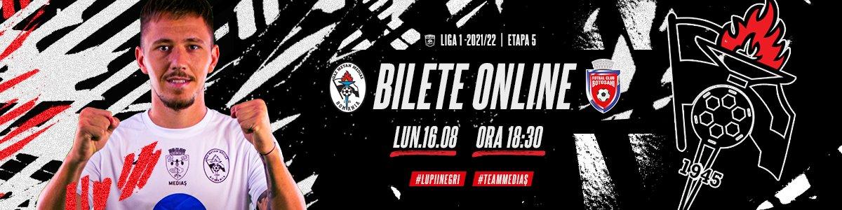 bilete CS Gaz Metan Medias - FC Botosani - CASA Liga 1