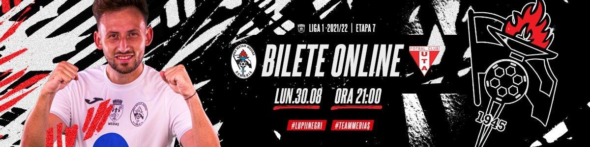 bilete Gaz Metan Medias - UTA Arad - CASA Liga 1