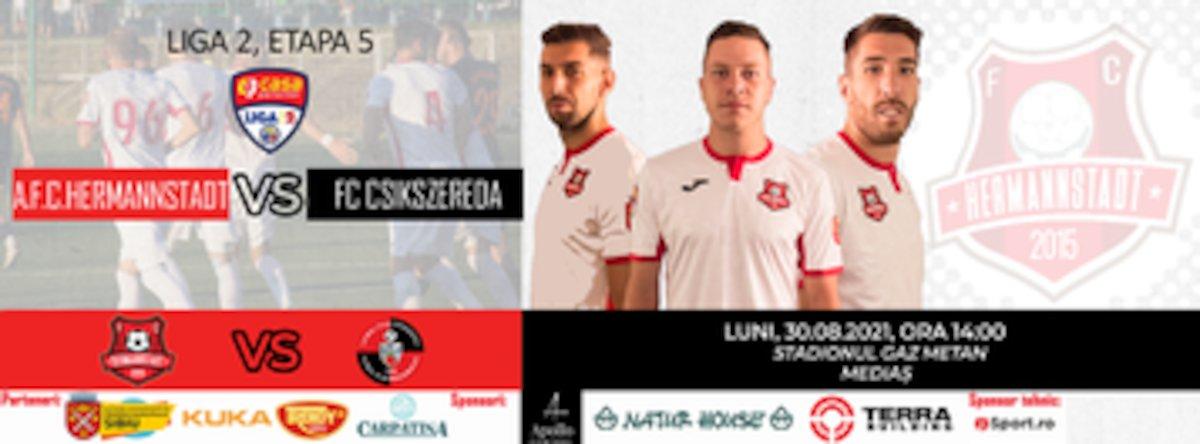 bilete AFC Hermannstadt - AFK Csikszereda