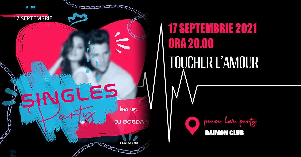 bilete ️Toucher L`amour - Singles party