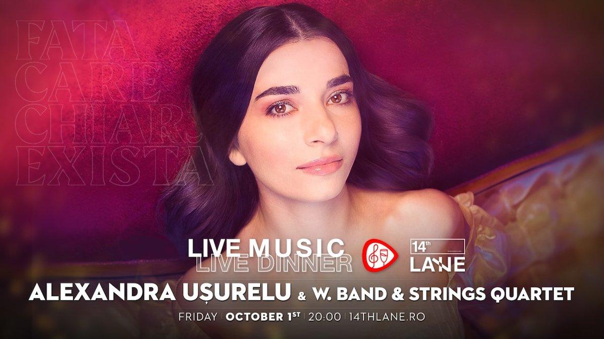 bilete Alexandra Usurelu & W.Band & Strings Quartet