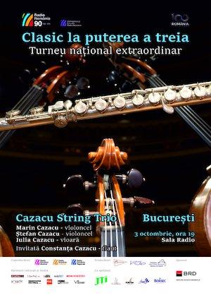 Recital- Cazacu String Trio