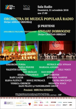 bilete Orchestra De Muzica Populara