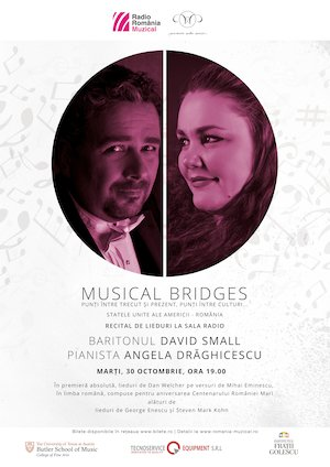 Musical bridges - Recital de lieduri la Sala Radio