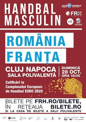 Romania - Franta - Handbal Masculin