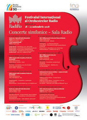 Bilete la  Festivalul International al Orchestrelor Radio RadiRo